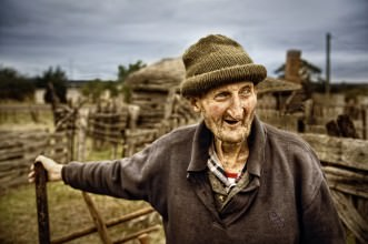 Sheep Farmer, Tasmania