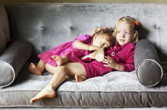 Jacqueline and Sage Balducci SistersJacqueline Age 1Sage Age 3