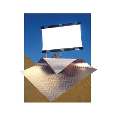 SunbounceZebra and White Screen