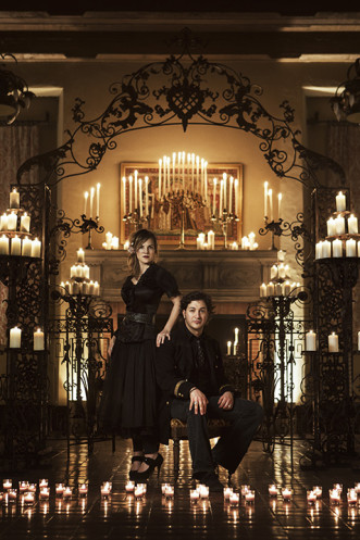 Today's Bride Cover Photo Shoot - Gothic