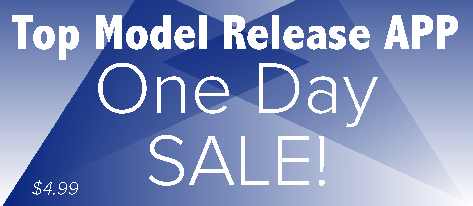 Top Model Release One Day Sale!