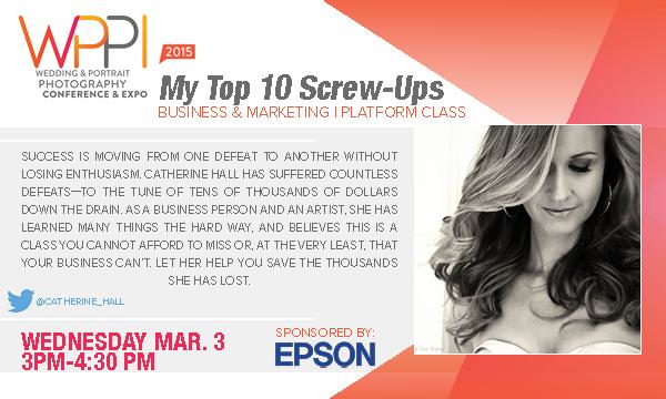 WPPI 2015 My Top Ten Screw-Ups